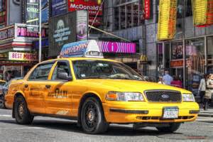 Yellow Taxi The Yellow Cab In Focus Naim Attallah