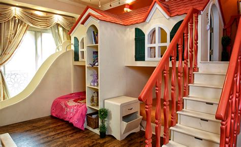 15 Fun Bunk Bed With Slides For Kids Bedroomm Bunk Beds That Look Like A House