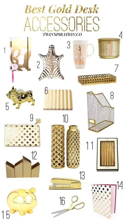 gold home decor accessories 25 best ideas about gold desk accessories on