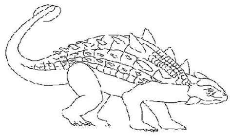 Ankylosaurus Dinosaur Coloring Pages And Facts Ankylosaurus Coloring Page