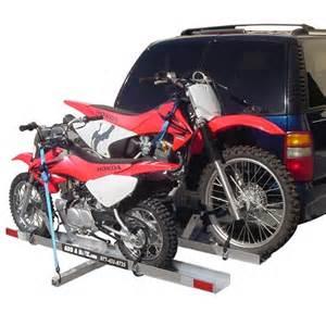 add a bike hitch mount dual dirt bike carriers
