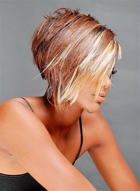 hair style short and stacked on top and long agled sides longer back short stacked haircut