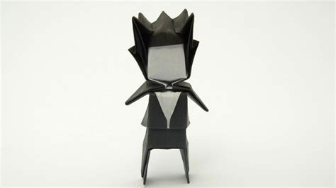 How To Make A Paper Person - origami groom jo nakashima my profile pic