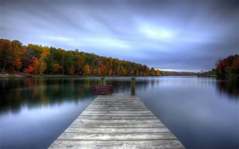 Type Of Trees by 31 Nature Landscapes Lakes Water Reflection Dock Pier