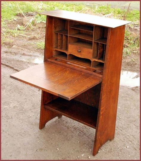 mission drop front desk plans woodworking projects plans