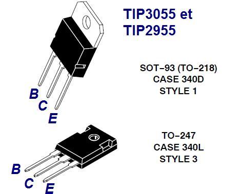 le transistor 2n3055 3