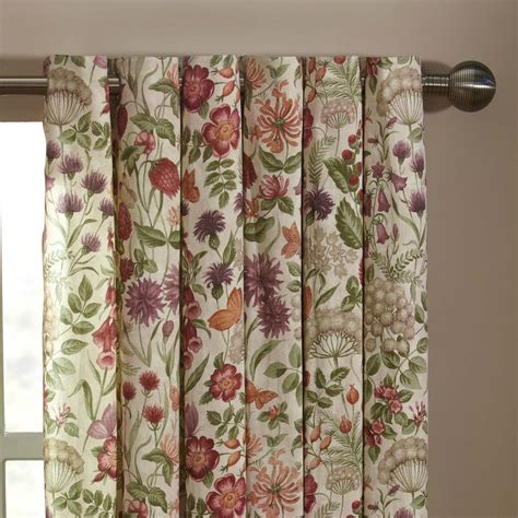 curtains flowers iliv moorland field flowers lined eyelet curtains autumn