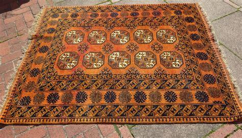 tekke bokhara rug antiques atlas vintage tekke bokhara wool area rug burnt orange