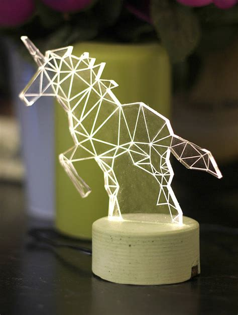 Decorative Table Lights Unicorn L Decorative Table L Unicorn Light