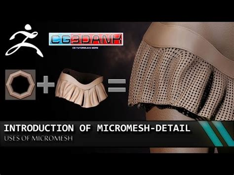 zbrush micromesh tutorial zbrush detailing clothes select polygroups by uv no