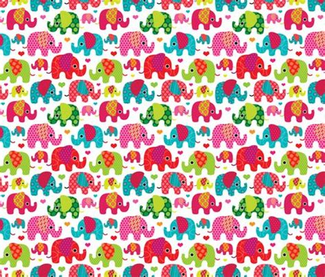 pattern fabric elephant retro kids indian elephant pattern fabric fabric by