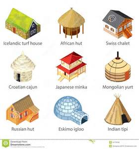 Different Houses different kinds of house clipart clipartsgram com