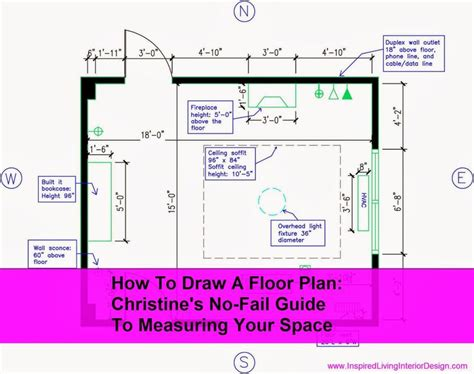 how to measure and draw a floor plan to scale 17 best images about how to draw floor plans on pinterest