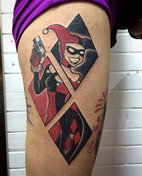 batman harley quinn tattoo 1000 ideas about joker tattoos on pinterest joker tatto