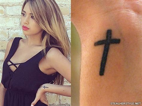 cross wrist tattoo 47 stylish cross tattoos for wrists