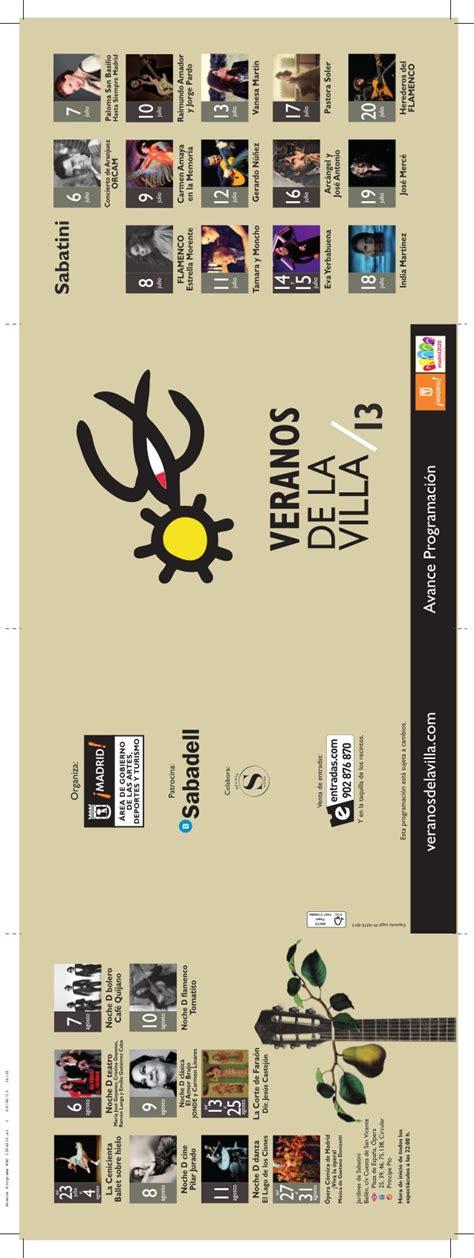 verano 2 testo veranos de la villa madrid 2013