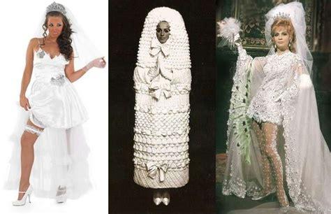 Imágenes De Vestidos De Novia Feos | los vestidos de novia m 225 s feos de la historia fotos