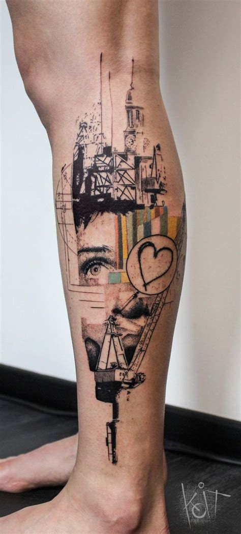 graphic design tattoo 17 best ideas about leg tattoos on leg