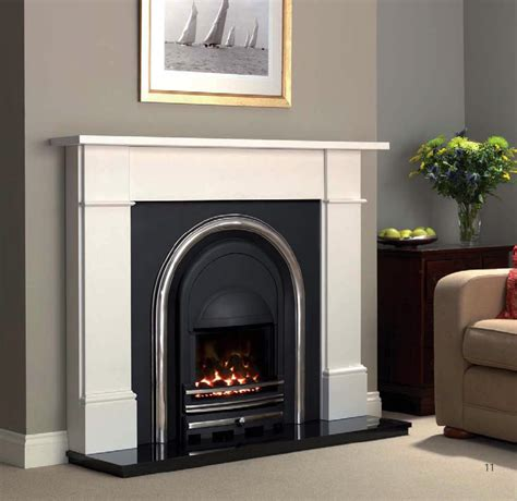 Cast Iron Gas Fireplaces by Cast Tec Integra Majestic Polished Stoke Gas Electric Fireplace Centre