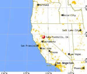 yuba foothills california ca 95925 profile population