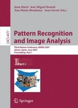 pattern analysis and applications pdf pattern recognition and image analysis third iberian