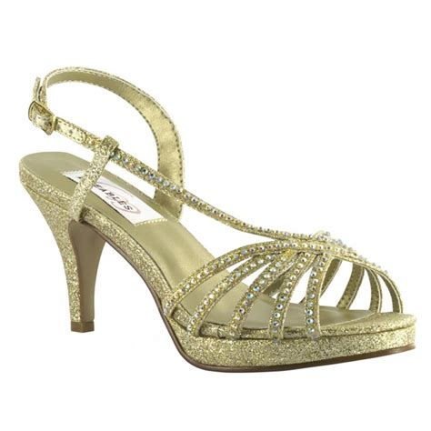 Gold Bridal Shoes by Alyssa By Dyeables In Gold Gold Bridal Shoes