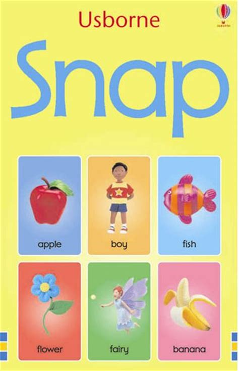 snap cards in spanish 0746097271 usborne books at home catalogue