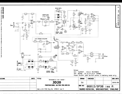 guitar circuit diagram electric guitar lifier circuit diagram circuit and