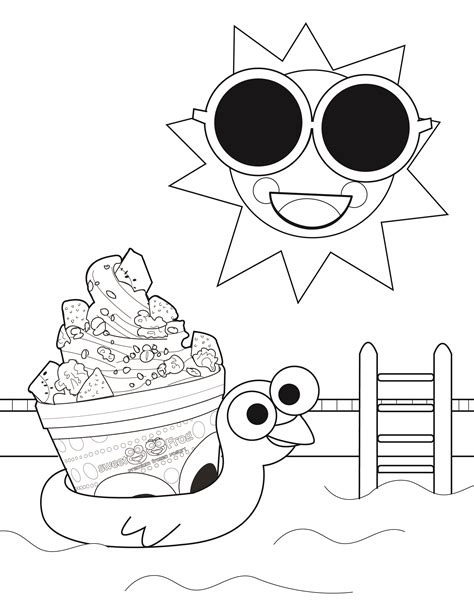 frozen yogurt coloring pages sweetfrog premium frozen yogurt