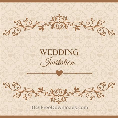 Wedding Vector Free by Free Vectors Wedding Vector Illustration Flowers