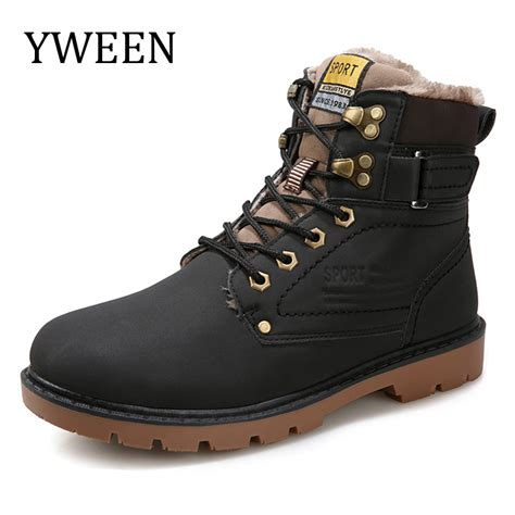 motorbike boots on sale yween winter men boots sale lace up solid nubuck