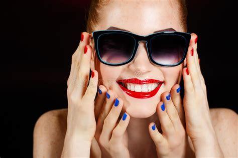 beautiful fashion girls face makeup