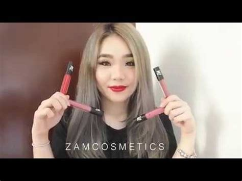 Lipstik Luxcrime zam by zaskia adya mecca lip swatches reviews