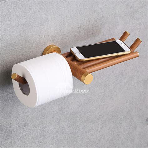 toilet paper holder wood simple unusual exquisite wooden toilet paper holder with shelf