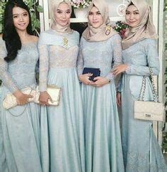 Dress Maxi Wanita Muslim Brokat Pesta Maxy Simple baju muslim pesta mode wanita muslim dress and clothes