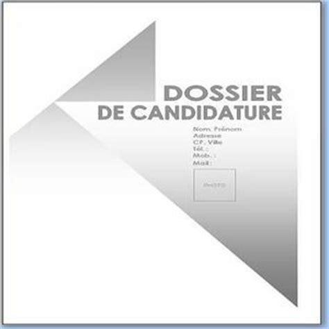 t 233 l 233 charger page de garde dossier de candidature pour