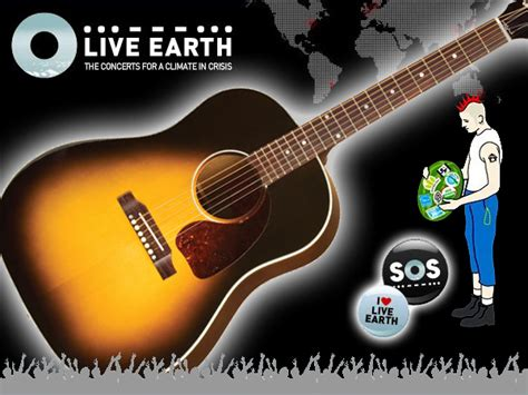 gibson creates enviro friendly guitars for live earth