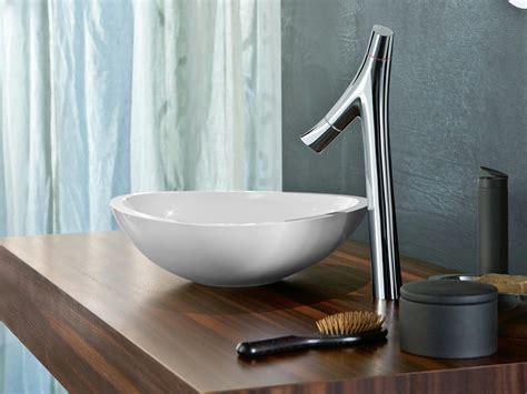 axor starck organic countertop washbasin mixer by