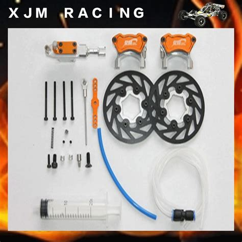 Braking System In Rc Cars 1 5 Rc Car Racing Parts Front Hydraulic Brake System For