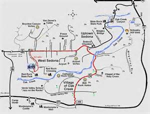 map arizona sedona sedona our trip to west amerika