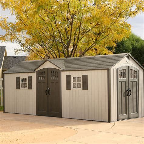 lifetime  ft    ft  garden shed reviews wayfair