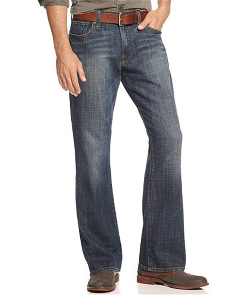 boot cut khakis mens lucky brand s 367 vintage boot cut