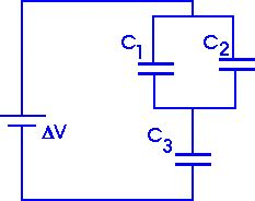 capacitors in combination capacitors