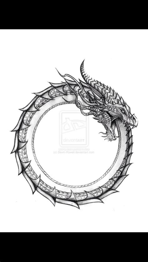 ouroboros dragon tattoo ouroboros my favorite symbol