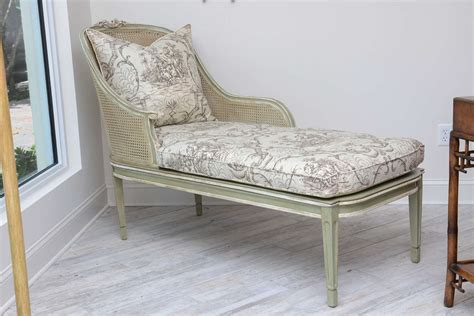 chaise lounge styles louis xvi style french caned chaise lounge for sale at 1stdibs
