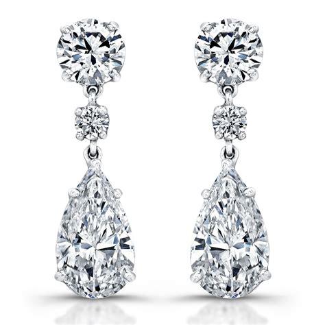 Ohrringe Diamant by Pear Earrings Revere Jewels