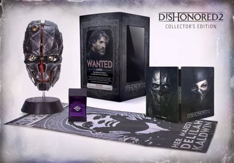 Dishonered 2 Bd Ps 4 dishonored 2 collector s edition pre order up on for pc ps4 and xb1 price 100