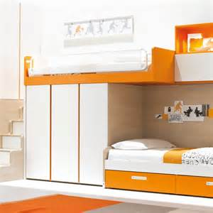 narrow bunk beds castello narrow bunk bed clever it