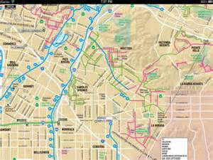 Los Angeles Tourist Map by Los Angeles Maps Download Metro Rail Bike Maps And