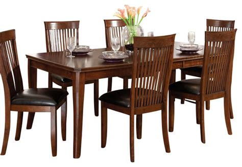 standard furniture regency 8 dining room set